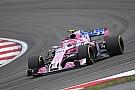 Force India tem problema