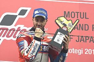 MotoGP Важливі новини Довіціозо відчуває себе фаворитом у боротьбі за титул