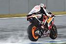 MotoGP Australian MotoGP: Marquez dominates wet FP3 but is among crashers
