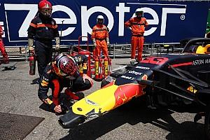 """""""Crash in training laat zien dat Verstappen niet leert van fouten"""""""