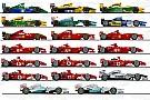 GALERI: Ilustrasi semua mobil Formula 1 Michael Schumacher