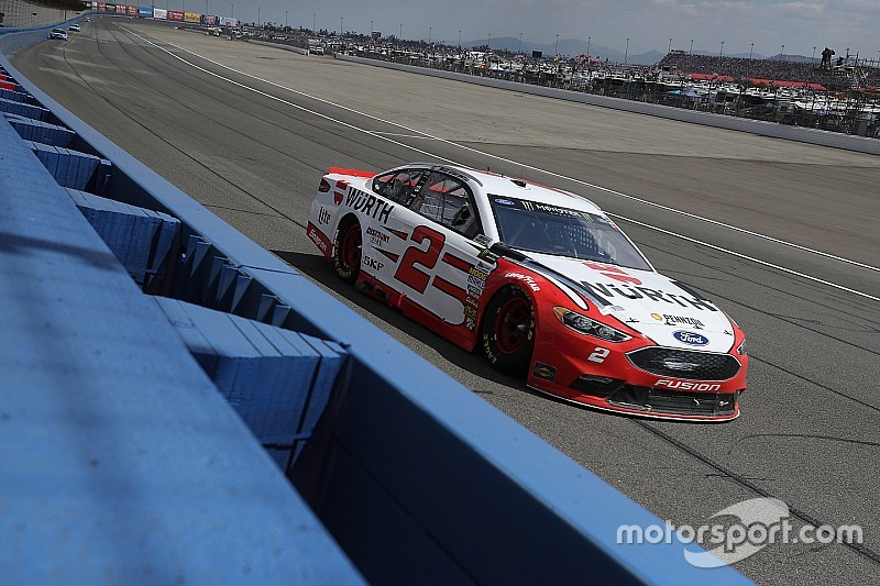 Keselowski rebounds from early wreck to nearly win in California