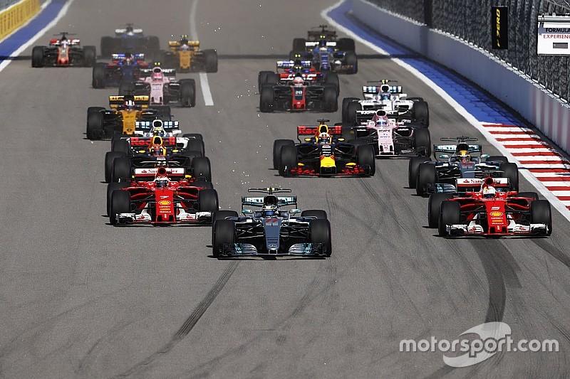 【F1】勝負を分けた第1スティント。ベッテル「ボッタスが速すぎた」