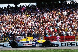 Формула 1 Самое интересное Большой Найдж. Карьера Мэнселла в фотографиях