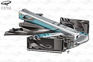 Formule 1 Analyse Tech: De evolutie van de Mercedes W08 in 2017