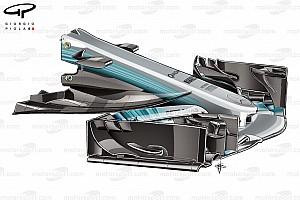 Formula 1 Analisi Animazione: ecco come la Mercedes ha evoluto la W08 dalla Spagna