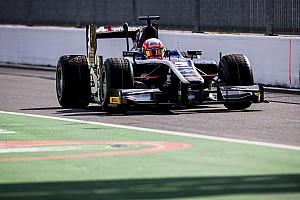 FIA F2 Отчет о гонке Гьотто выиграл гонку Ф2 в Монце после столкновения лидеров