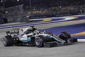 Formula 1 Breaking news Hamilton tak mengira tertinggal jauh dari Ferrari