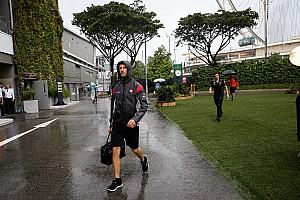 Formula 1 Ultime notizie Grosjean incerto che il GP di Singapore si possa fare sul bagnato