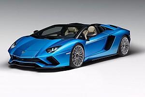 Automotive Noticias de última hora Lamborghini Aventador S Roadster, más de 700 CV descapotables