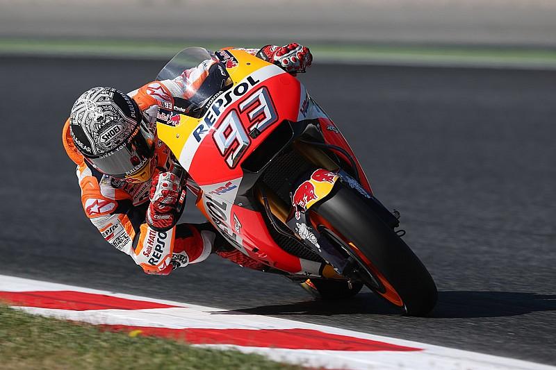 Маркес стал быстрейшим в первой тренировке Гран При Каталонии