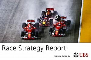 Fórmula 1 Análisis James Allen, en su informe UBS, analiza la estrategia del GP de Singapur
