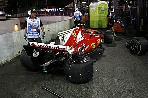 Fórmula 1 Noticias Primer doble abandono de Ferrari desde el GP de México de 2015