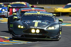 Ле-Ман Самое интересное Aston Martin против Corvette. Видео главной борьбы на финише «Ле-Мана»