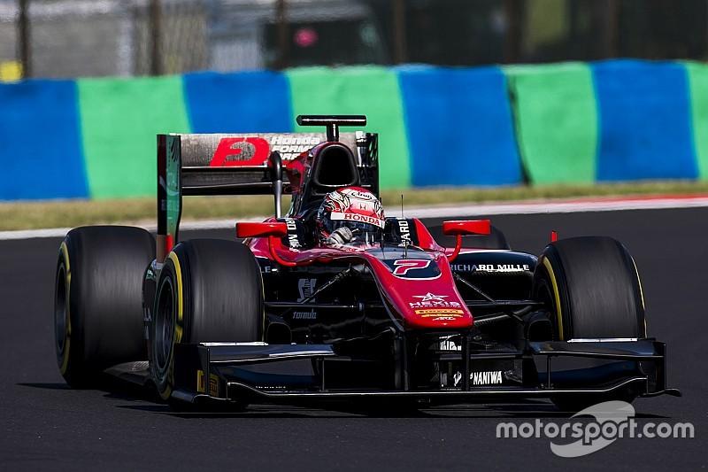 F2 Hongaria: Matsushita rajai Sprint Race, Gelael finis P10