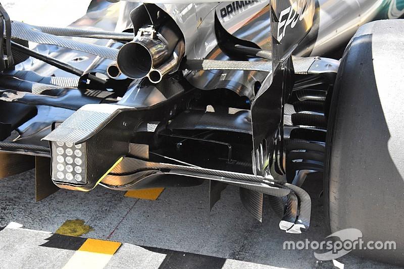 Rejtett apróságok a Mercedes diffúzorán