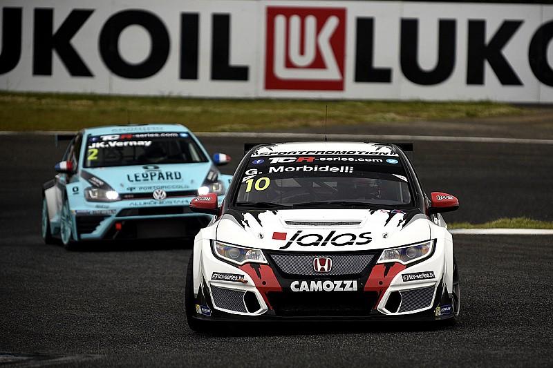 TCR в Ешторілі: Морбілеллі переграє Хомола в першій гонці