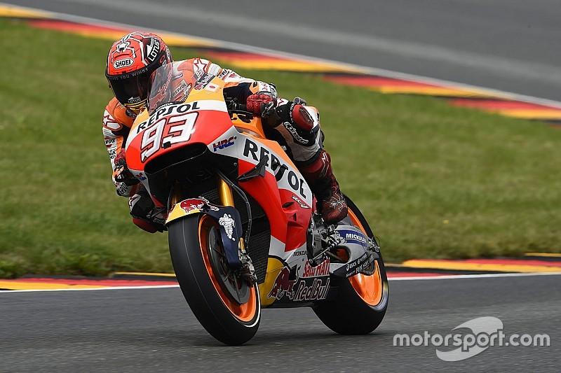 Rahasia kemenangan Marquez di Sachsenring