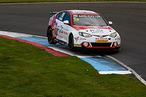 BTCC Race report Silverstone BTCC: Sutton heads MG 1-2 in Race 1