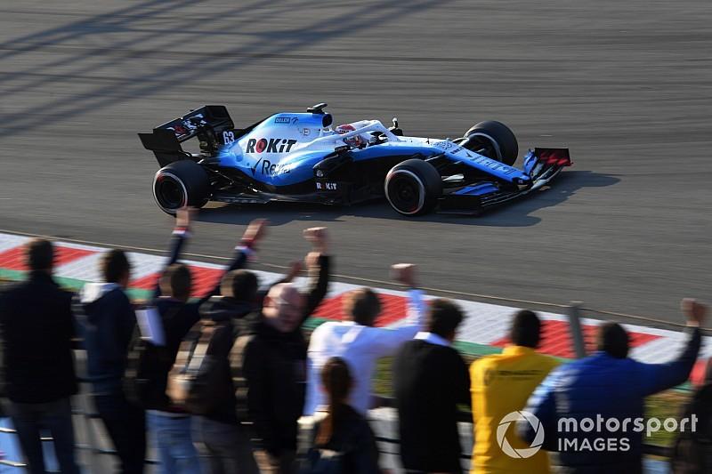 Egy egészen különleges hátsó szárnyat kapott a Williams: tisztelet!