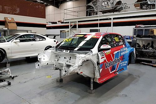 Donor car used to fix crashed GRM Peugeot