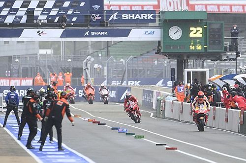 Por qué la controversia alrededor de las carreras 'flag to flag' es un debate estéril en MotoGP