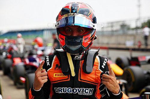 Pierwsze pole position Drugovicha