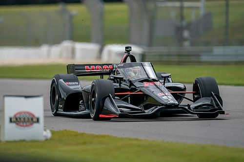 """Malukas on first IndyCar test: """"I wasn't expecting it to be so good!"""""""