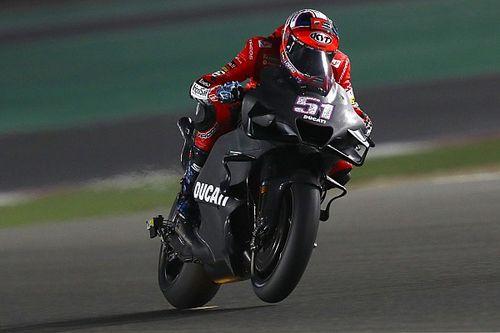 Ducati: nuovo convogliatore di flusso sulla moto laboratorio