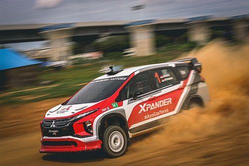 Rifat Sungkar Bawa XRT Raih Hasil Positif di Tropical Sprint Rally 2021