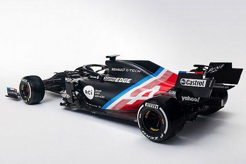 Renault, Alpine F1'e dönüştü, geçici görünümünü tanıttı!