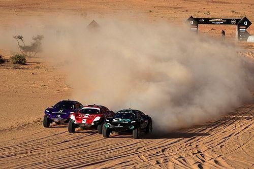 Intensa batalla decide finalistas de Extreme E en Arabia Saudí