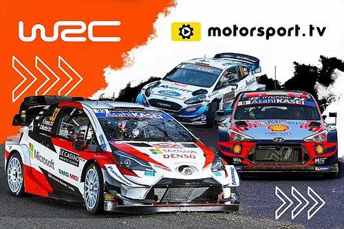 A WRC is saját csatornát indít a Motorsport.tv-n