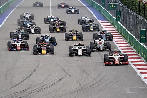 Fórmula 2 anuncia calendario de 28 carreras para 2022