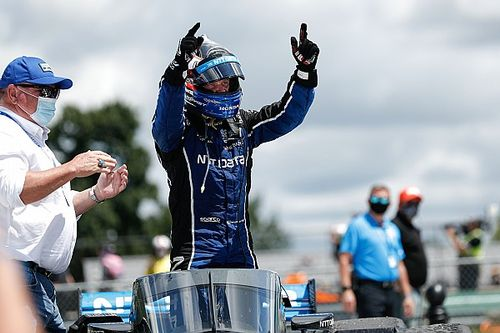 IndyCar Road America: Rosenqvist snatches win from O'Ward