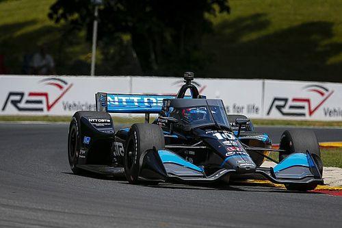 Rosenqvist supera O'Ward na penúltima volta e vence em Road America
