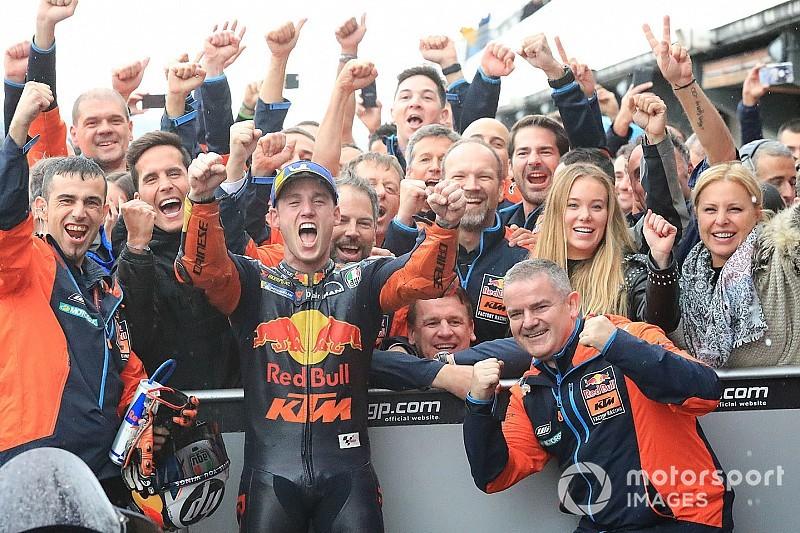 Espargaró: son podium avec KTM, une émotion plus forte que son titre