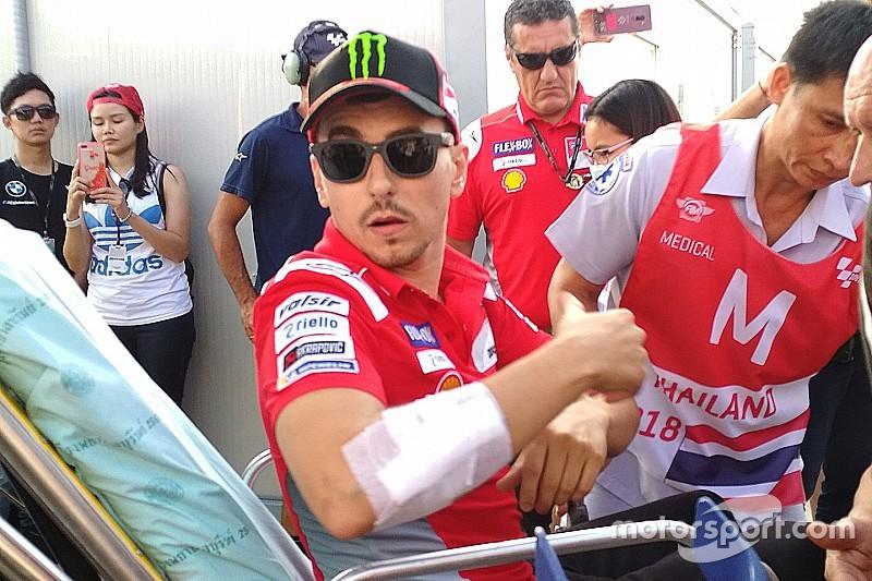 Лоренсо відмовився від гонки у Таїланді