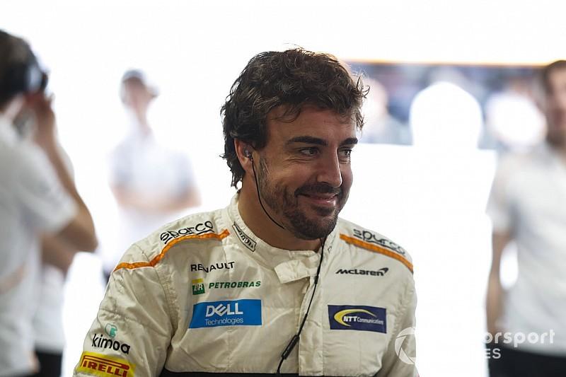 """Alonso: Desde que decidi parar, cada GP é uma """"celebração"""""""