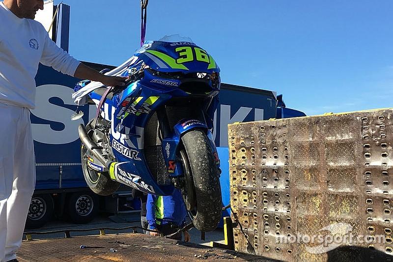 """Joan Mir: """"En MotoGP el asfalto está más duro"""""""