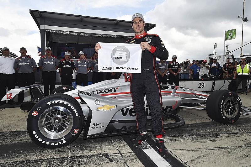 IndyCar Pocono: Power verslaat Newgarden voor 53e pole