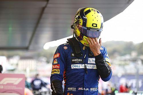 Norris recibe una reprimenda de los comisarios tras el GP de Rusia