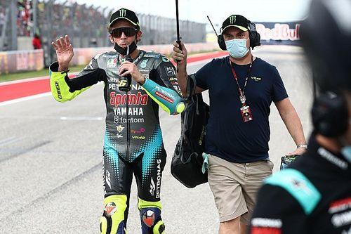 """Rossi prepara l'addio: """"Triste arrivare alla fine, ma ci siamo divertiti"""""""