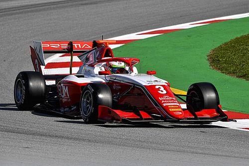 Caldwell grijpt allereerste Formule 3-zege na chaotische race