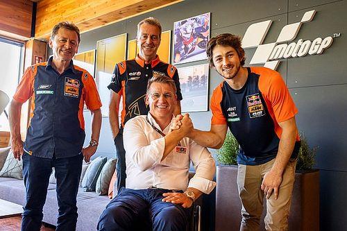 KTM заключила контракт с сыном чемпиона MotoGP