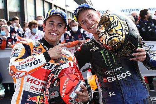 Marquez és Dovizioso nem győzte méltatni Quartararót: Mindenhol gyors volt!