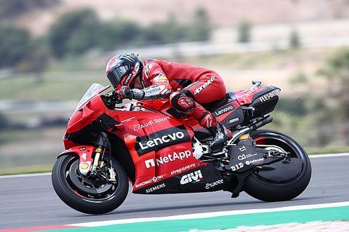"""Bagnaia gongola: """"Riesco a far girare tanto la Ducati"""""""
