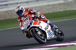 MotoGP Relato de testes Dovizioso domina teste no Catar; Márquez cai duas vezes