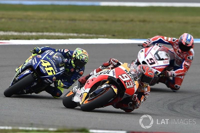 """Márquez sobre Rossi: """"Solo con experiencia no se gana un Mundial"""""""
