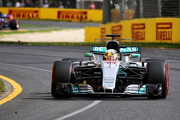 Formel 1 News Lewis Hamilton beim F1-Auftakt 2017